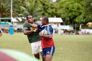 2013 Rugby 7's on Koro Island Fiji